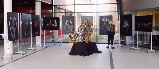 Expo Lycée PJ Fontaine - Crédit photos E. Gpoes - M. Zommer