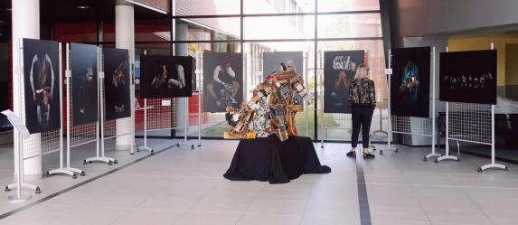 Expo Lycée PJ Fontaine - Crédit image M. Zommer