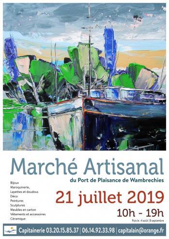 Affiche 21 juillet marche artisanal 2019 marc zommer photographies copier