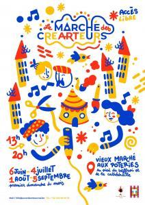 Affiche des crearteurs