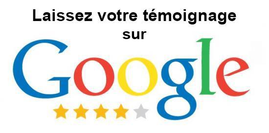 Votre témoignage sur Google
