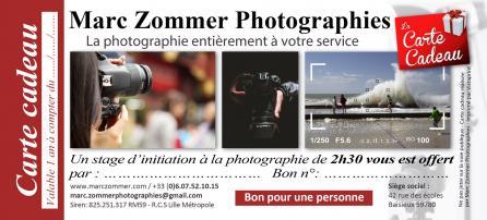Carte cadeau 2h30 marc zommer photographie 21x9 5cm copier