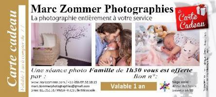 Carte cadeau forfait famille 1h30 marc zommer photographies web