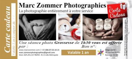 Carte cadeau forfait grossesse 1h30 marc zommer photographies 800