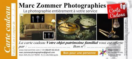 Carte cadeau objet patrimoine familial marc zommer photographie 21x9 5cm copier